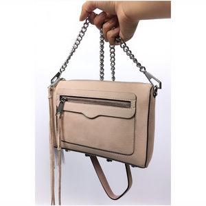 Rebecca Minkoff Avery Nubuck Crossbody Bag